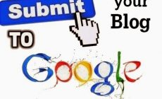 How To Submit Your Website/Blog To Google