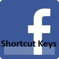 facebook shortct keys
