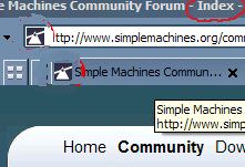 removing Index in smf title