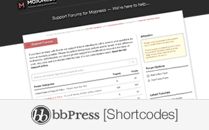 a list of bbpress shortcodes