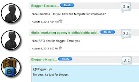 customizing and adding threaded comments to blogger