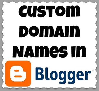how to use custom domain name with blogger