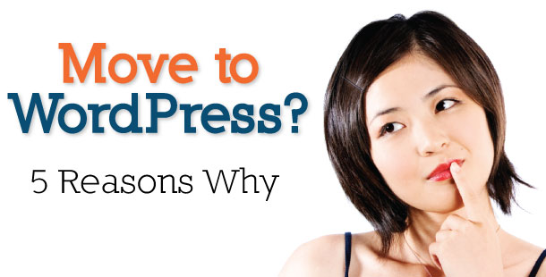 five reasons why you should move from blogger to wordpress