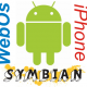 Differences between Android, Symbian, Palm's WebOS, and Apple's dev platform