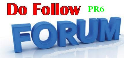 100 pr6 dofollow forums for backlinks
