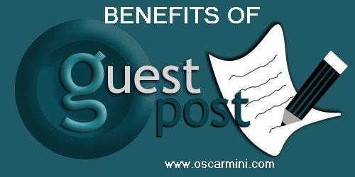 5 benefits of guest blogging