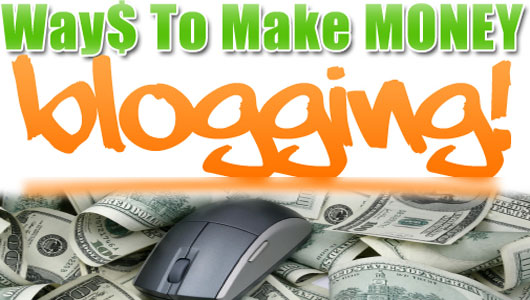 Earn a living online blogging