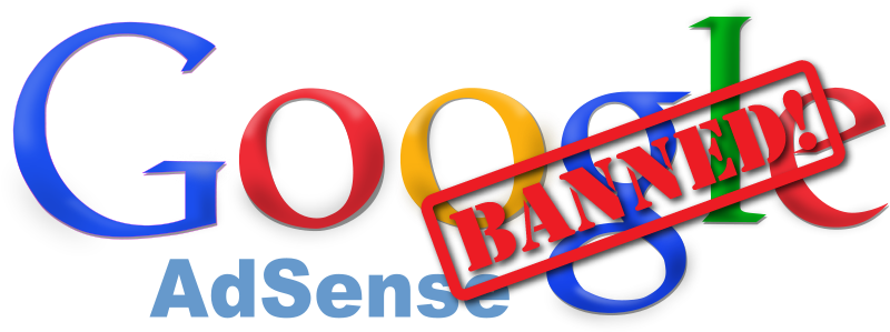 how to get banned from adsense
