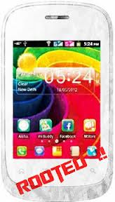 how to root a Micromax A52 Android device