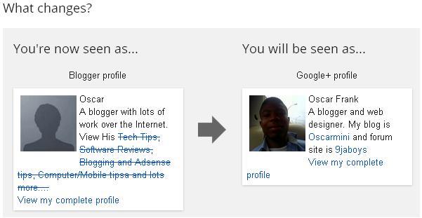 blogger profile switch