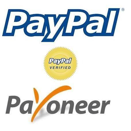 verify paypal using payoneer