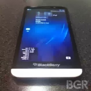 Blackberry A10 Image Leaked