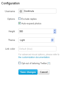 How To Add Twitter Recent Tweet To Your Blogger Blog