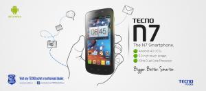 Easiest Method To Root Your Tecno N7 Phone