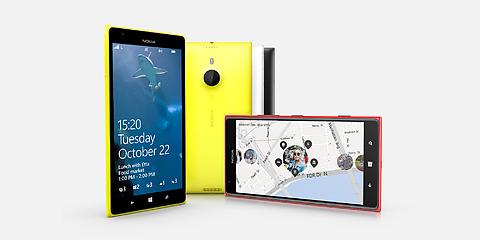 Nokia windows Lumia 1520 phone