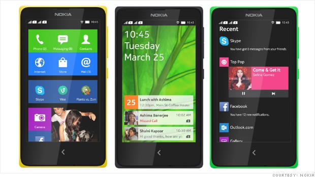nokia x series unveiled