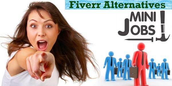 make money with fiverr - 5 alternatives