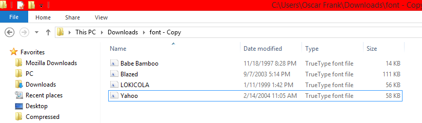 How to installadd new fonts for photoshopcorel draw on windows fonts folder ccuart Image collections