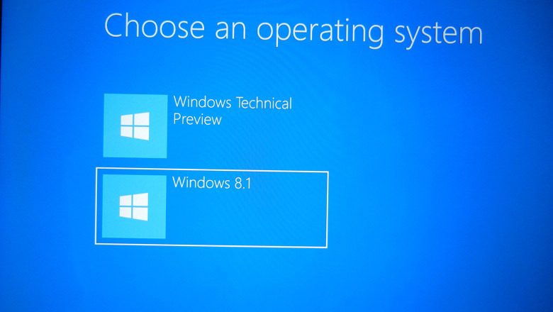 Dual Booting Windows 7 and 10 Technical Preview copy