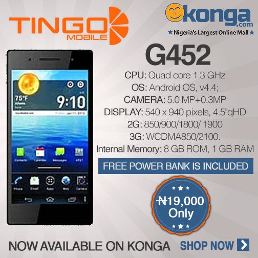 Tingo G452