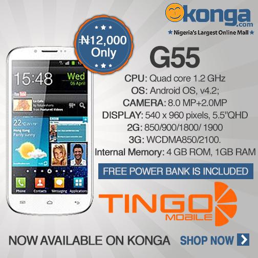 Tingo G55