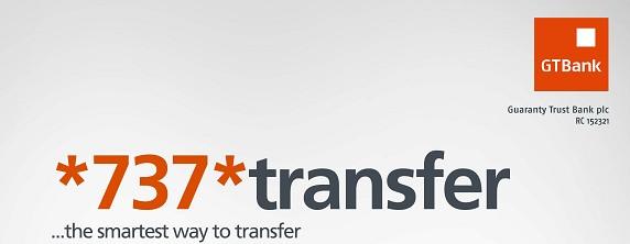 GTBank money transfer using shortcode *737* service