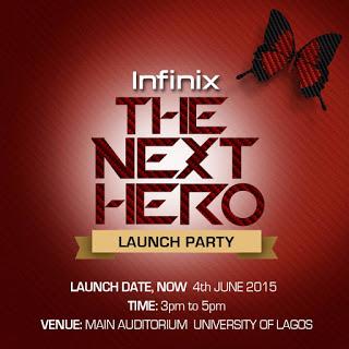 Infinix Launch Invitation