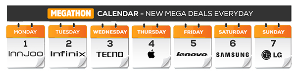 Megathone calendar