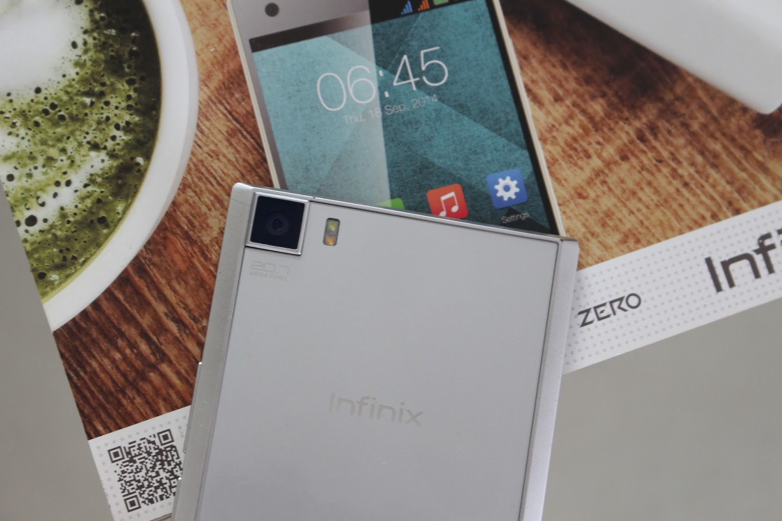 Zero 3 from Infinix with 21MP