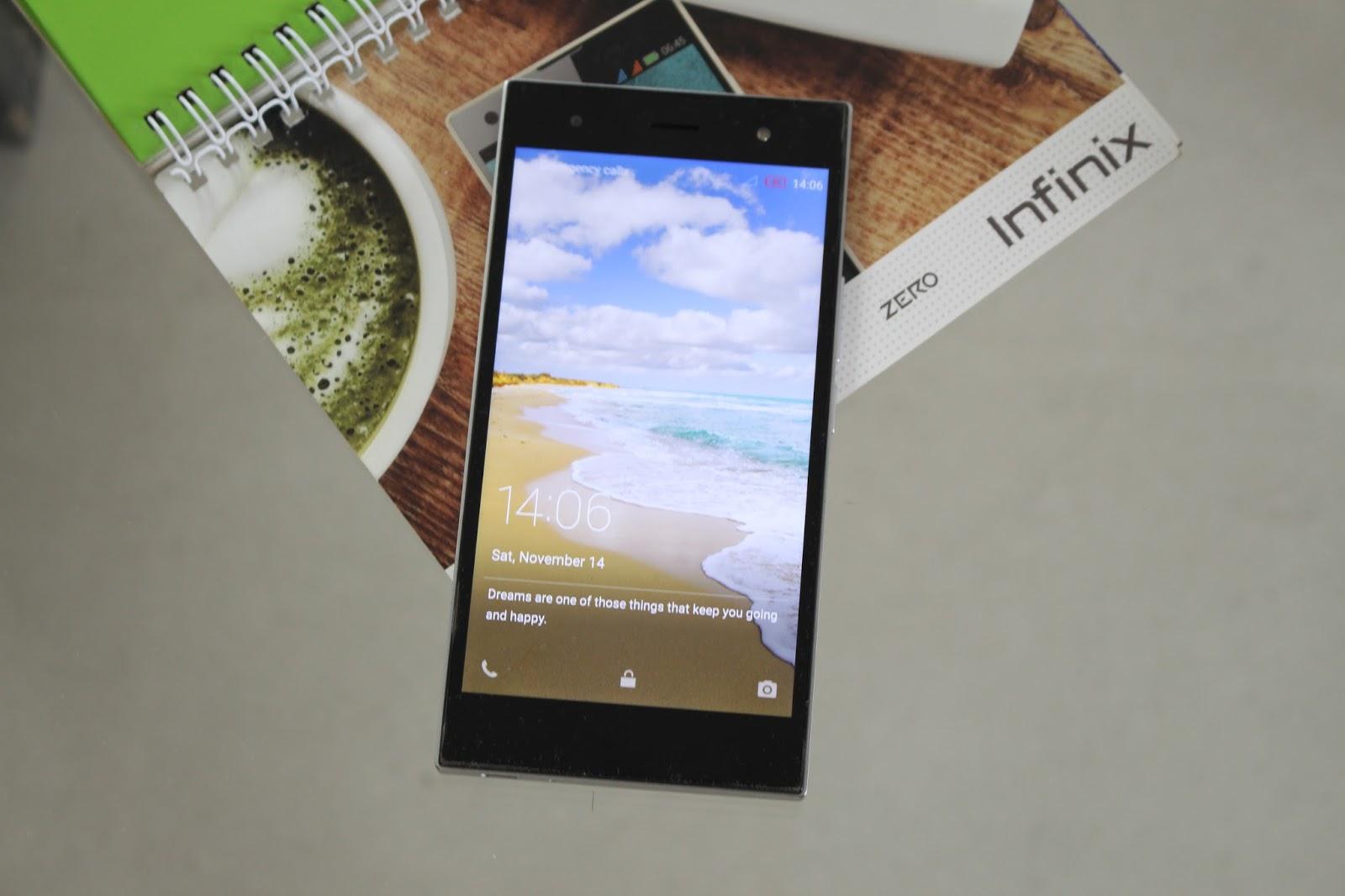 The perfect smartphone from Infinix (Zero 3 X552)