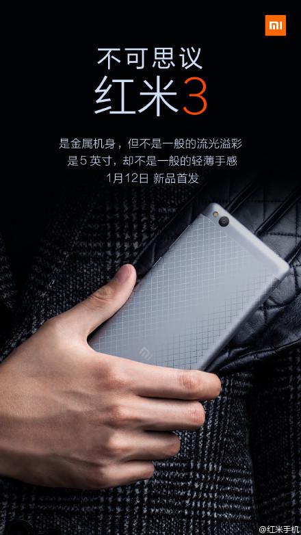 Redmi 3 Android Smartphone