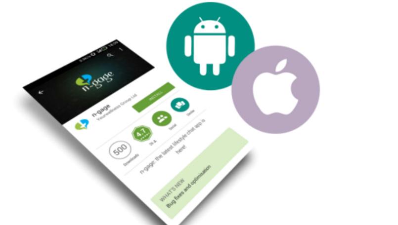 N-gage messaging app