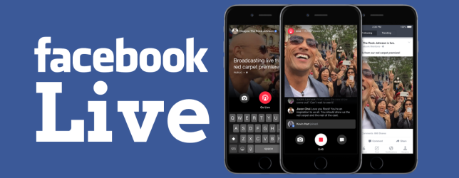 Facebook Live Video now available to all
