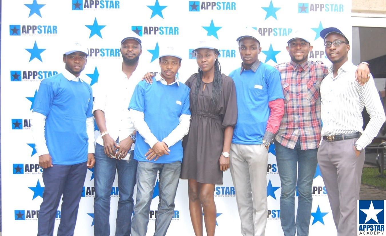 Adesanya and the AppStar Team