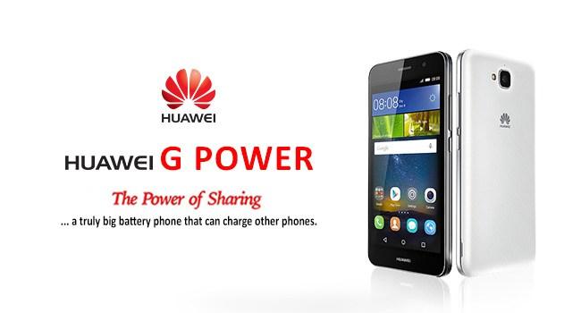 The Huawei G Power