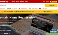 How to buy Domain and Hosting from DomainKing.NG