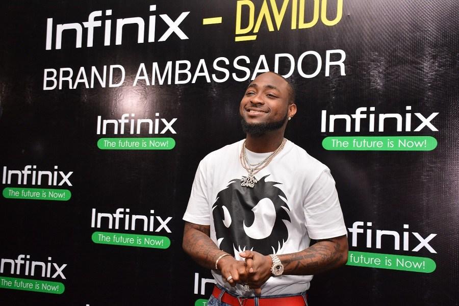 Davido becomes Infinix Mobility Ambassador