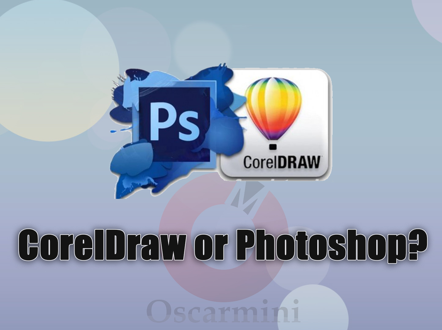 Corel Draw vs Adobe Photoshop
