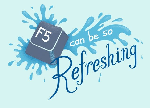 f5 to refresh a pc