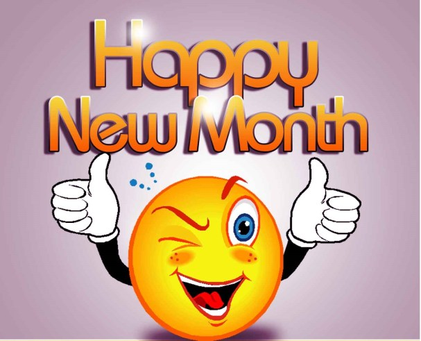 Happy New Month Text Messages and SMS