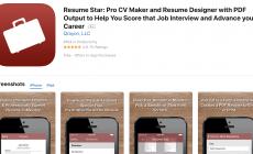 5 Best Free Resume Builder Apps for iPhones (iOS) 2018
