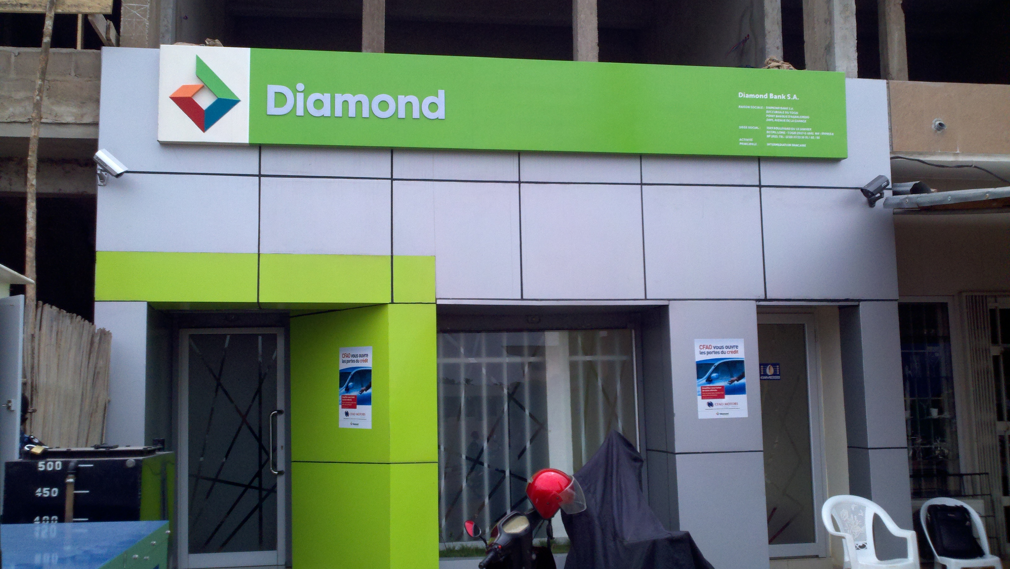 Diamond bank Sort Codes and Branches